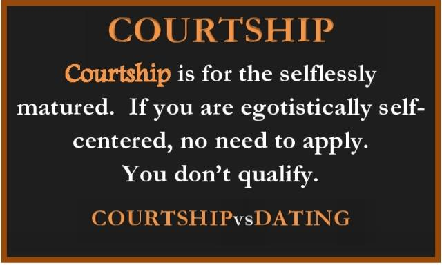Courting define