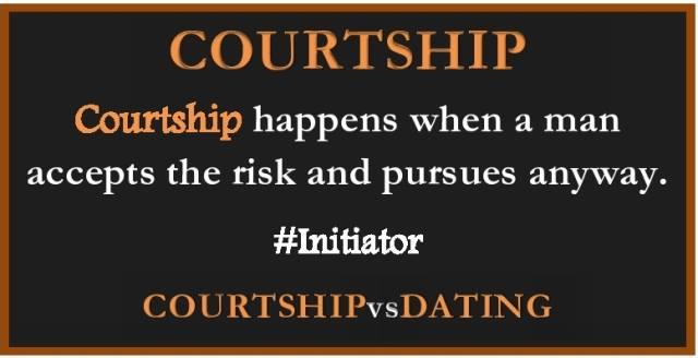 CourtshipVsDating Initiator