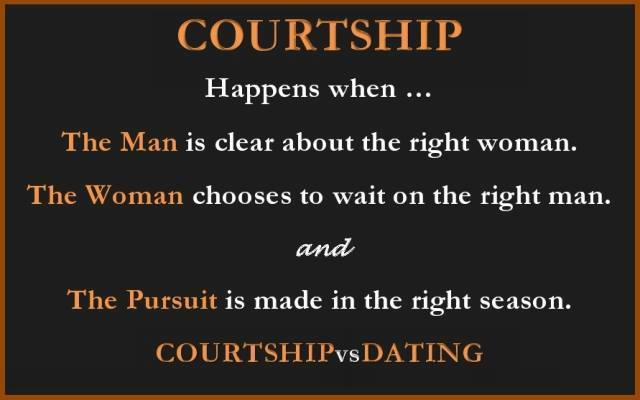 Courting With Clarity