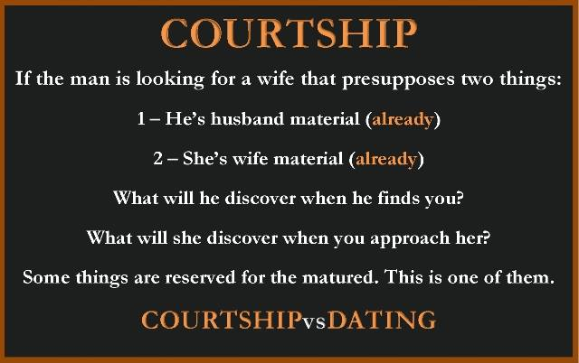 CourtshipVsDating Pictures Page