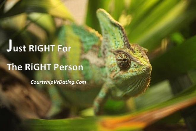 You're Just Right – For The Right Person